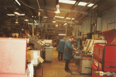 An original phot of our premises in Cornwall in the 1980s.