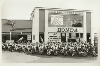 David Paull started DP Engineering as a location for motorcyle parts.