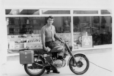 David Paull is the passionate motorcyclist who started DP Engineering.